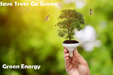 Go Green, Save Green Energy